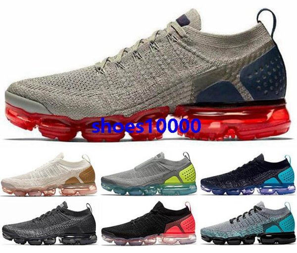2020 air Vapors 2 max women fly Black eur 46 Mens vm Running knit Trainers Sneakers size us 5 12 Men Shoes Athletic Classic New Arrival