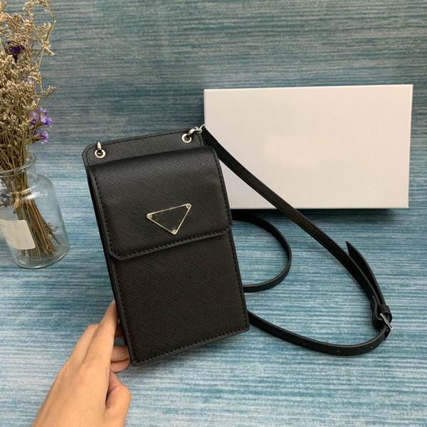 designer luxury handbags purses designer crossbody shoulder bag plain letter belt leather phone purses cowhide genuine leather (480346252) photo