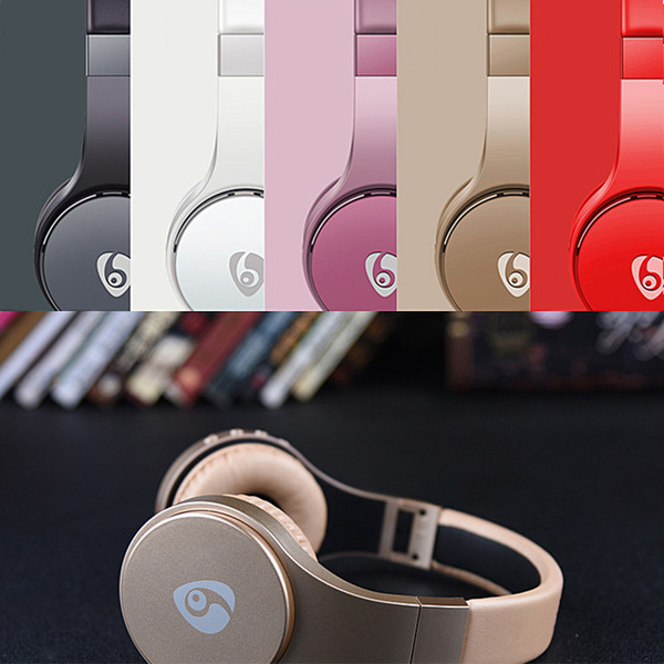 S55 wirele bluetooth headphone wearing head mounted earphone gaming head et auricular upport tf card foldable headband earphone earbud