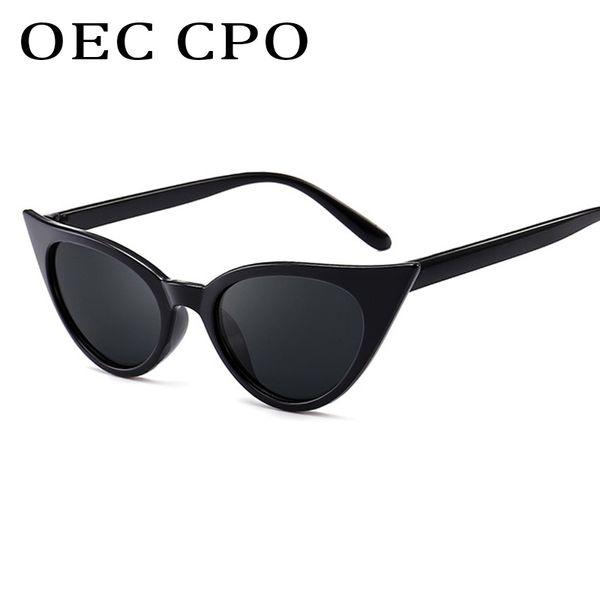 OEC CPO высокое качество роскошные Кошачий глаз Солнцезащитные очки Женщины бренд дизайнер летние очки Солнцезащитные очки дамы роскошные солнцезащитные очки Oculos De Sol UV400L143 фото