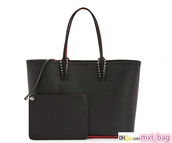 christin loubtin designer handbags red bottom fashion composite handbag women designer purse genuine leather purse bags (528197278) photo