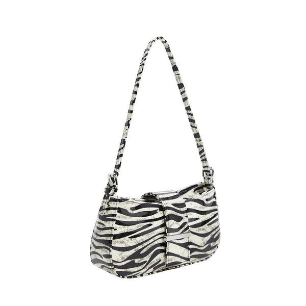 2020 retro zebra pattern armpit bag french shoulder bag portable ladies fashion casual women purse and handbags sac a main (552463987) photo