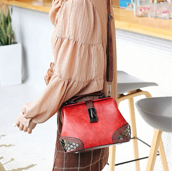 women handbags tote bag pu leather shoulder bags satchel hobo handbags bucket purse for women (518996710) photo