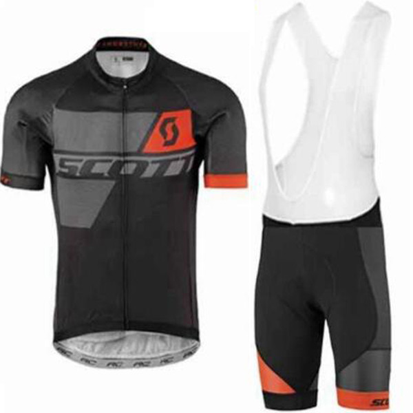 New Crossrider summer 2019 SCOTT cycling jersey team bike wear clothes MTB Ropa Ciclismo pro cycling Breathable clothing mens short bib sets
