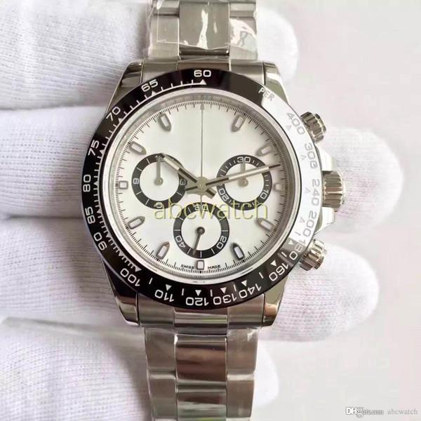 Топ роскошные часы Tona стиль 40 мм сапфировое стекло нержавеющая сталь 316L ремешок м