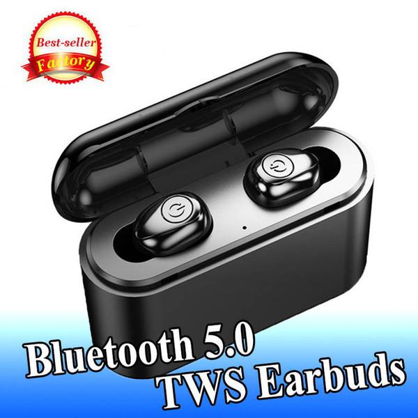 Беспроводные наушники Bluetooth5.0 TWS HIFI стерео наушники с сенсорным управлением Спорт