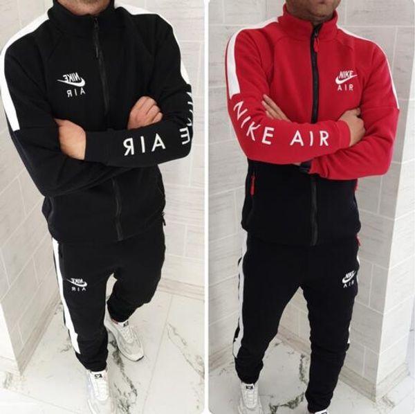 Men Designers Tracksuits Cardigan Jackets Hooded Hoodies Long Pants Sweatsuits Casual Active Print Suits 2 PCS Mens Clothing