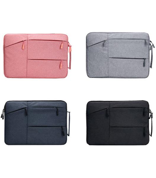 Мода сумка для ноутбука для женщин мужчин Бизнес 12-15. 6 дюймов ноутбук сумки водонепроницаемый Легкий стильный ноутбук сумка 4 цвета смешанные фото