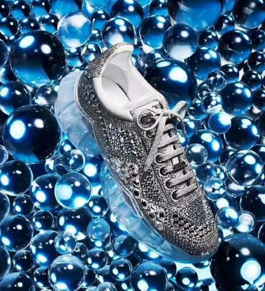 Высокое качество горячее надувательство JC limited edition роскошные кроссовки Crystal flash з