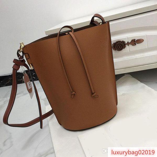 designer handbags loevy purse bag genuine leather women bucket purse bag fashion shoulder luxury purse handbag (514294913) photo
