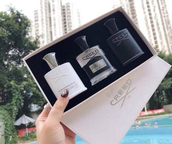 Горячая распродажа парфюмерный набор для мужчин 30 мл * 3 шт. Портативные парфюмерн фото