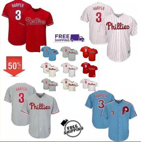 Bryce 3 harper phillie jer ey philadelphia 150th flex ba e me h retro maje tic alternate men youth kid women cool ba e ba eball jer ey