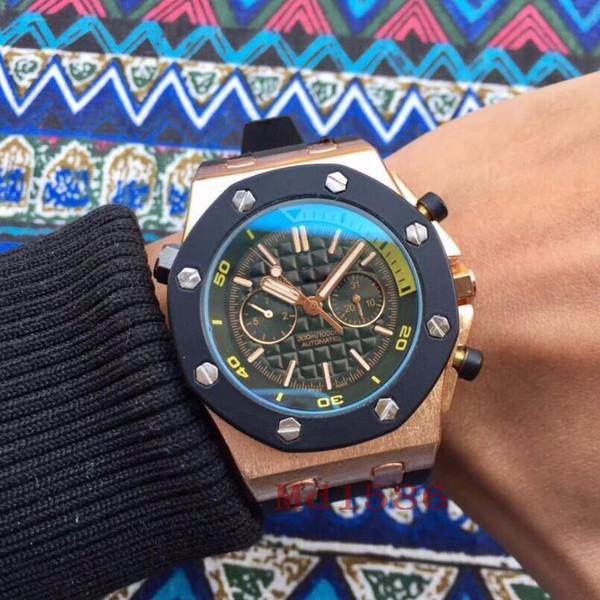 Мода Мужчины Наручные Часы Изысканный Механический Механизм С Автоподзаводом Ча фото