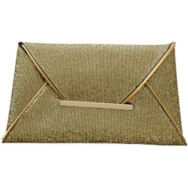 fashion womens sequins envelope bag evening party purse clutch handbag (524277986) photo