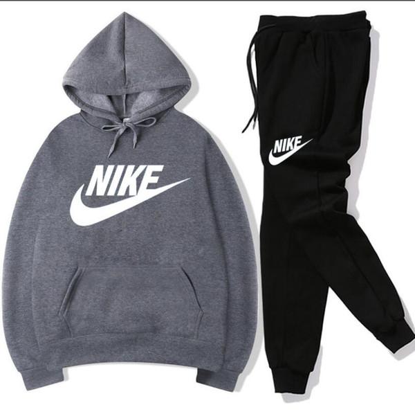 Hot sale set sweatsuit Tracksuit Men hoodies pants Mens Clothing Sweatshirt Pullover women Casual Tennis Sport Tracksuit Sweat Suit