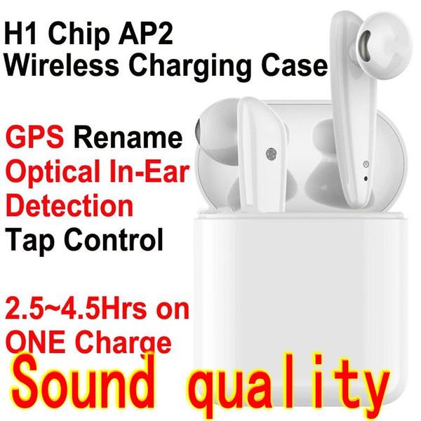 изменение названия GPS TWS 5,0 наушника H1 CHIP беспроводной Bluetooth наушники serson всплывал