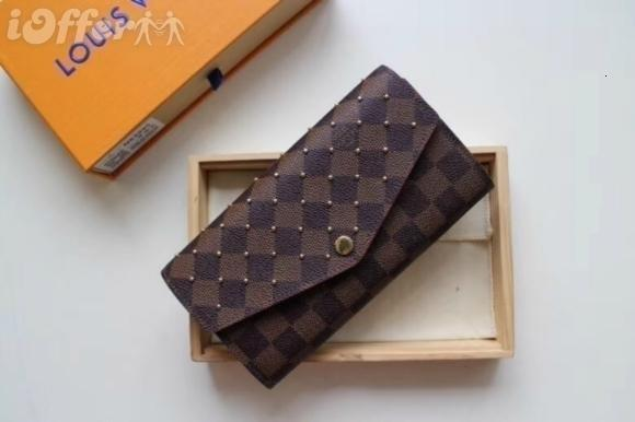 m60123 women canvas stud victorine wallet purse bag wallet purse belt bags mini bags clutches exotics (504399617) photo