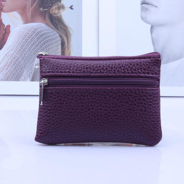 women pu leather mini wallet multi functional zipper coin purse card holder purses ka-best (466237705) photo