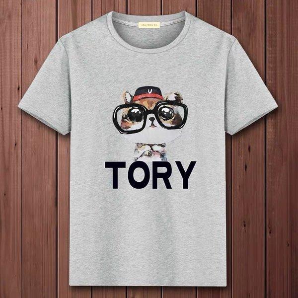 Новые мужские летние тройники плюс размер футболка с коротким рукавом письмо печатный хлопок футболка 3D дизайнерская одежда M-4XL Гольф футболка фото