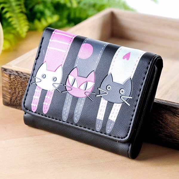 cartoon mini wallets women leather fashion exquisite waterproof women purse ladies purse wallet hasp hand wal (513246235) photo