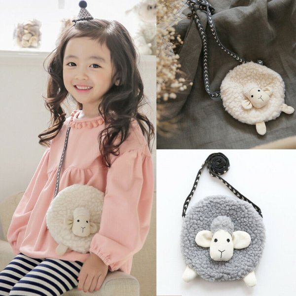 mini messenger bag baby girl soft crossbody purse coin shoulder crossbody bag plush purses (515279563) photo