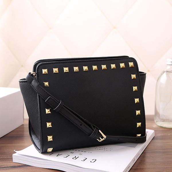 manufacturers wholesale designer women shoulder bag luxury handbags purses rivet cross pattern shoulder bag pu handbags lady crossbody// (529029725) photo