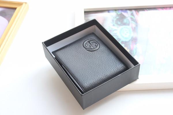mens wallet mobile wallet change purse wrist purse hand purse leather short bifold wallet free (510590457) photo