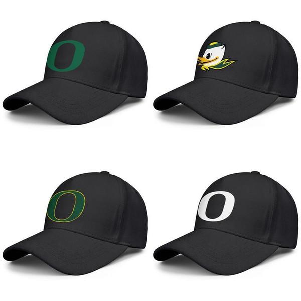 Логотип основной команды Oregon Ducks Мужская Женская Регулируемая Шляпа Грузовика Ле