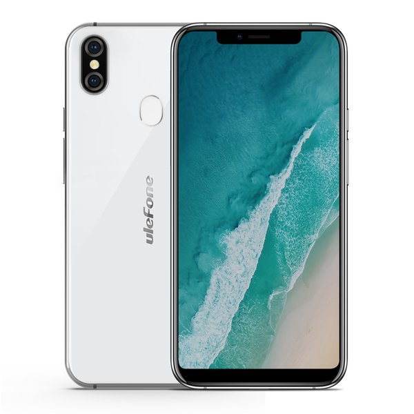 Ulefone X Face ID Smartphones Wireless Charge Android 8.1 MT6763 Octa Core 4GB RAM 64GB ROM 5.85inch Cell Phones