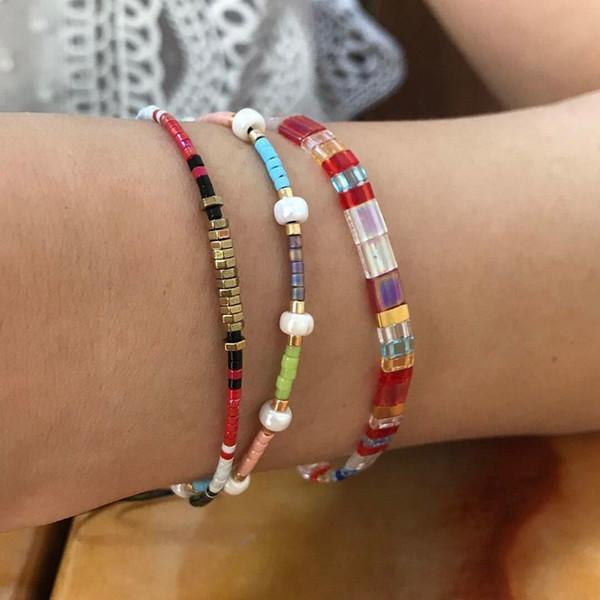 new_arrival_multi-color_miyuki_seed_beads_bracelets_set_handmade_adjustable_size_beaded_bracelets_adjustable_friendship_bracelets_for_girl