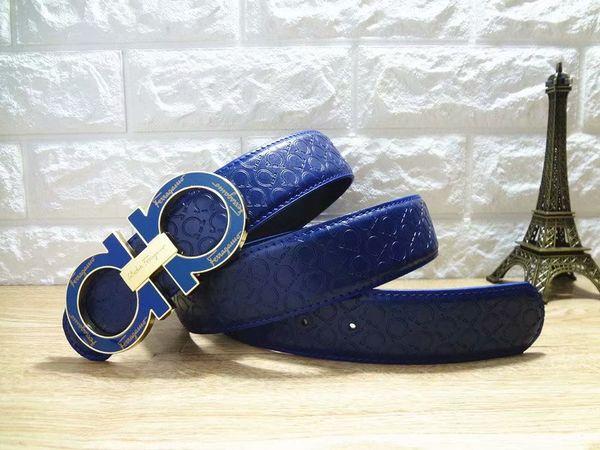 Высококачественный ремень, большая пряжка Ferra, высококачественный модный ремень фото