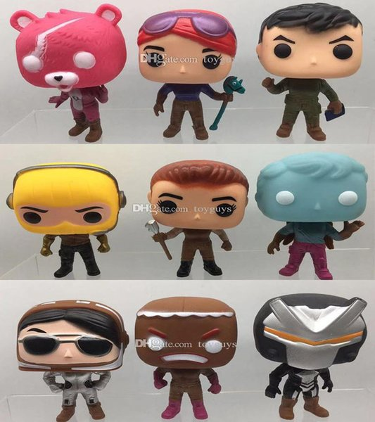 Funko pop fortre night collection doll fortnite erie american pvc fighting cartoon children toy anime game action figure doll for kid