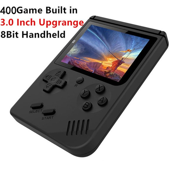 2019 new fa hion up mini handheld game con ole up plu portable no talgic game player 400 in 1 fc game color lcd di play game player