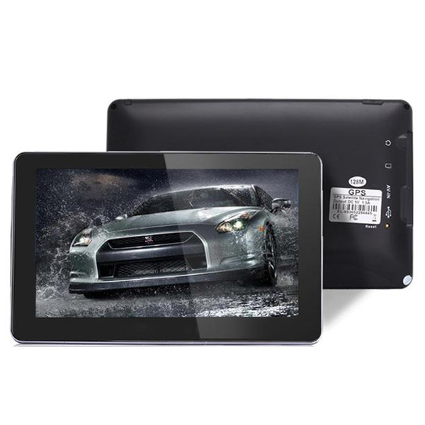 5 inch car auto gp navigator bluetooth av in fm cpu 800mhz build in 8gb igo primo map