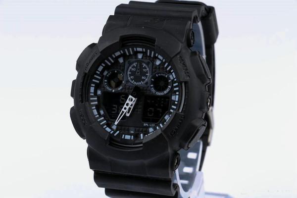 Новые мужские случайные спортивные часы для бега водонепроницаемые наручные час фото