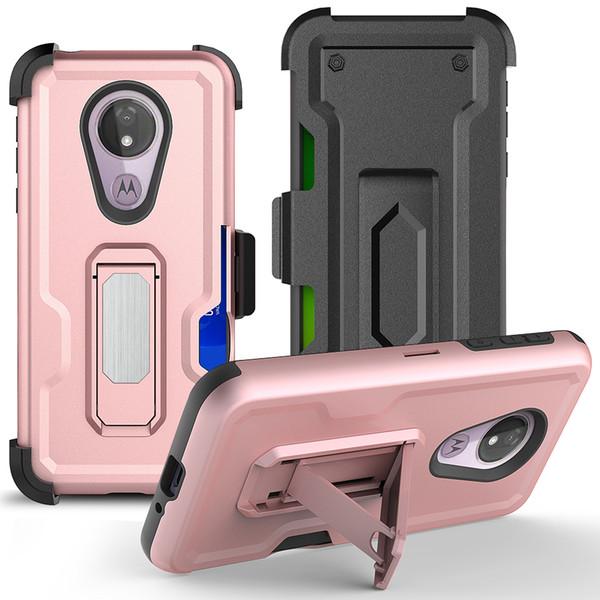 Moto g7 power  hockproof car holder  tand magnetic bracket bring back clip phone cover ca e