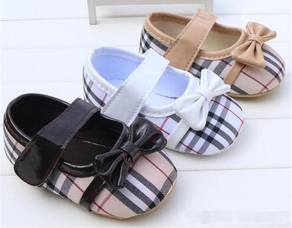 Весна и Осень Обувь для Новорожденных Девочек Новорожденная Принцесса Первая Обувь Уокера Детская Обувь Prewalker размер 11 см