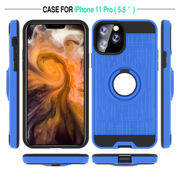 Автомобильный держатель Магнитный Гибридный чехол телефон Кольцо для Iphone 11 Pro Max 6
