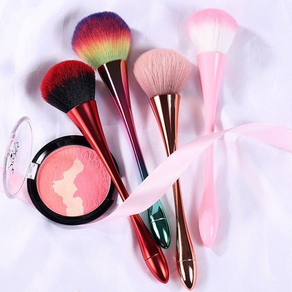 Professional Water Drop Goblet Single Slim Waist Makeup Brushes Foundation Powder Blush Cosmetic Brush Concealer Brushes Makeup Beauty Tools