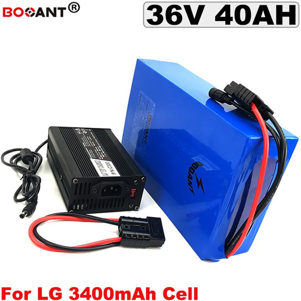 36v 40ah electric cooter lithium battery 36v for bafang bb hd 800w 1500w motor e bike battery 36v for lg 18650 battery pack