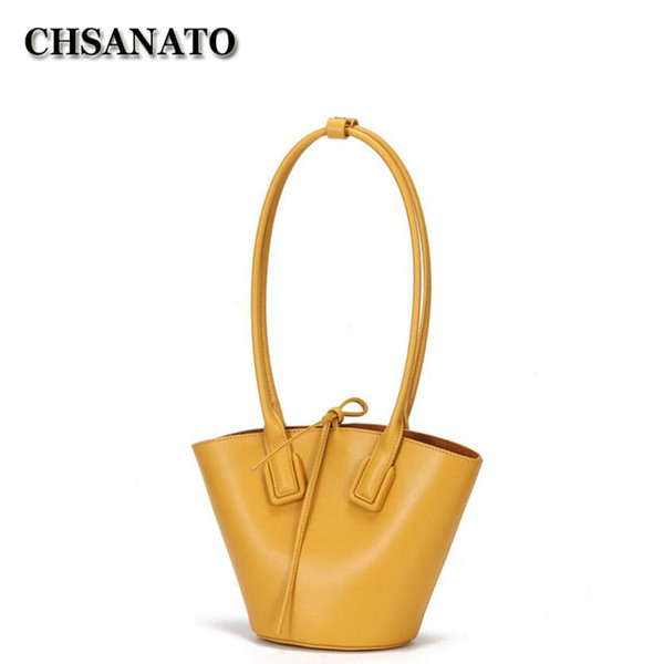 chsanato high end handbag lovely charm ladies purses and handbags bucket composite tote for girls unique quality (546540607) photo