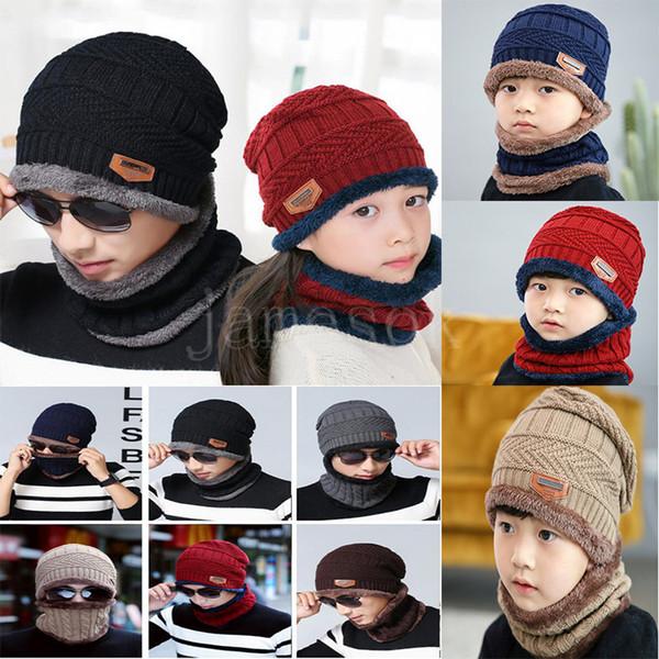 Шея теплая зимняя шапка вязать шапка шарф шапка Зимние шапки для мужчин вязаная ш фото
