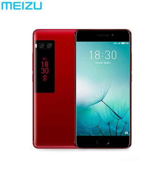 Original meizu pro 7 plu  6gb 64 128gb 4g lte mtk helio x30 deca core 5 7 quot   creen dual rear fa t charge cell phone dual  creen