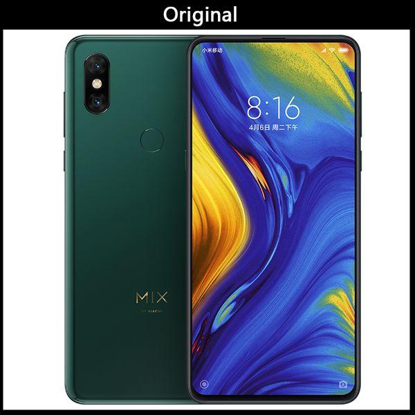 Xiaomi mi mix 3 mix3 8gb 256gb  napdragon 845 6 39  039   039  amoled mobile phone 2 front   2 back camera  wirele   charging nfc