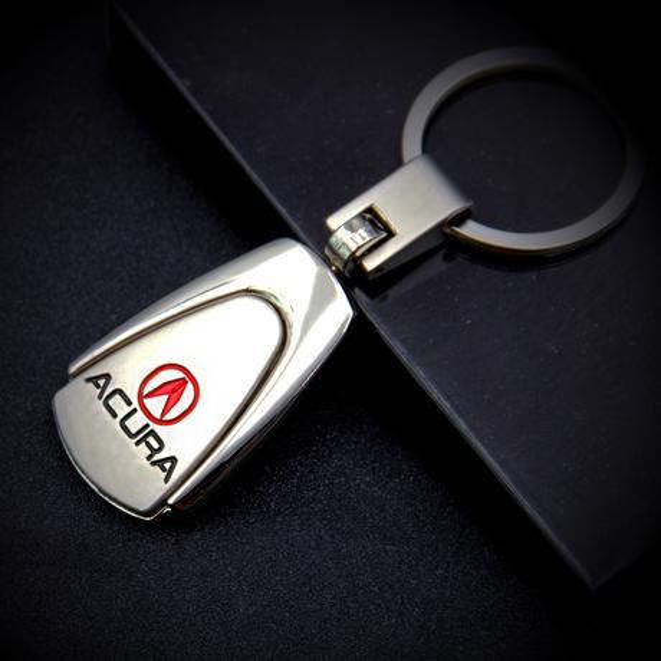 Авто аксессуары 3D металлический брелок для ключей автомобиля брелок для Acura Honda Toy фото