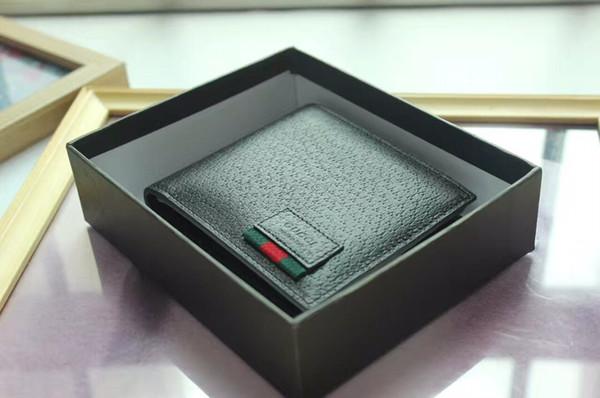 mens wallet printed wallet change purse wrist purse hand purse leather short bifold wallet free (510589609) photo