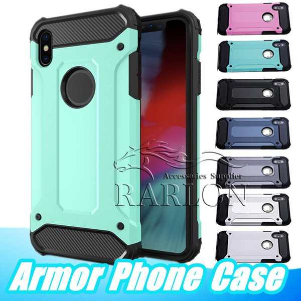 For iphone x  max armor ca e hybrid  uperior hard pc and rubber drop re i tance back cover ca e for  am ung  10 5g e  8 plu  m10 lg v50 moto