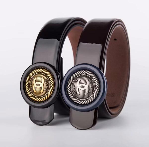 2019 de igner belt luxury belt men big buckle belt fa hion men leather belt whole ale hipping