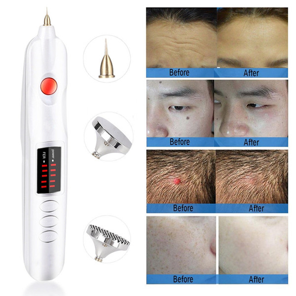 Mini la er pla ma pen eyelid lifting face lift needle pot removal face freckle wart wrinkle tattoo remover kin care home u e beauty device