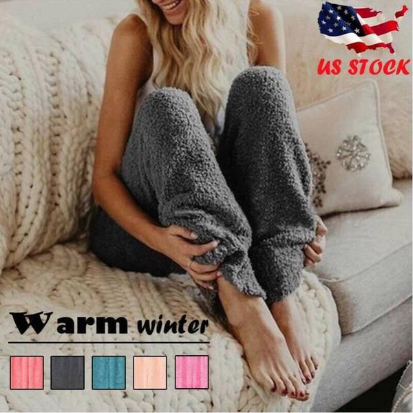 Зимние кашемировые шаровары теплые брюки Женские 2020 причинные брюки женские теплые толстые кашемировые брюки из овечьей кожи женские свободные брюки фото